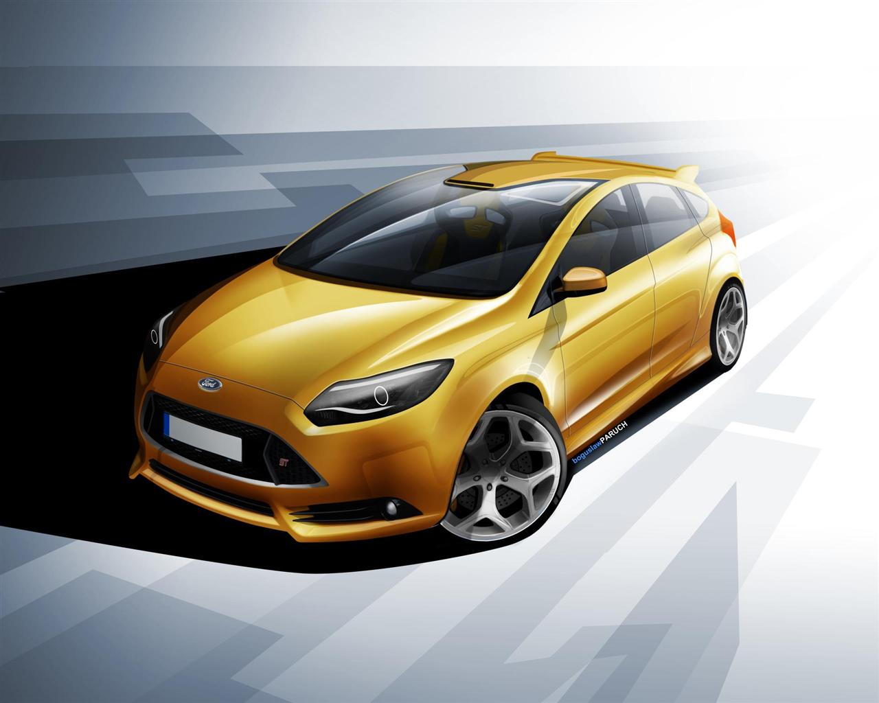2012 ford focus st images photo ford focus st hatchback 2012 03. Black Bedroom Furniture Sets. Home Design Ideas