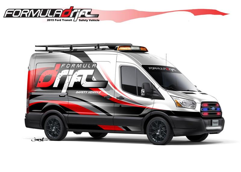 2014 Ford Formula DRIFT Transit pictures and wallpaper