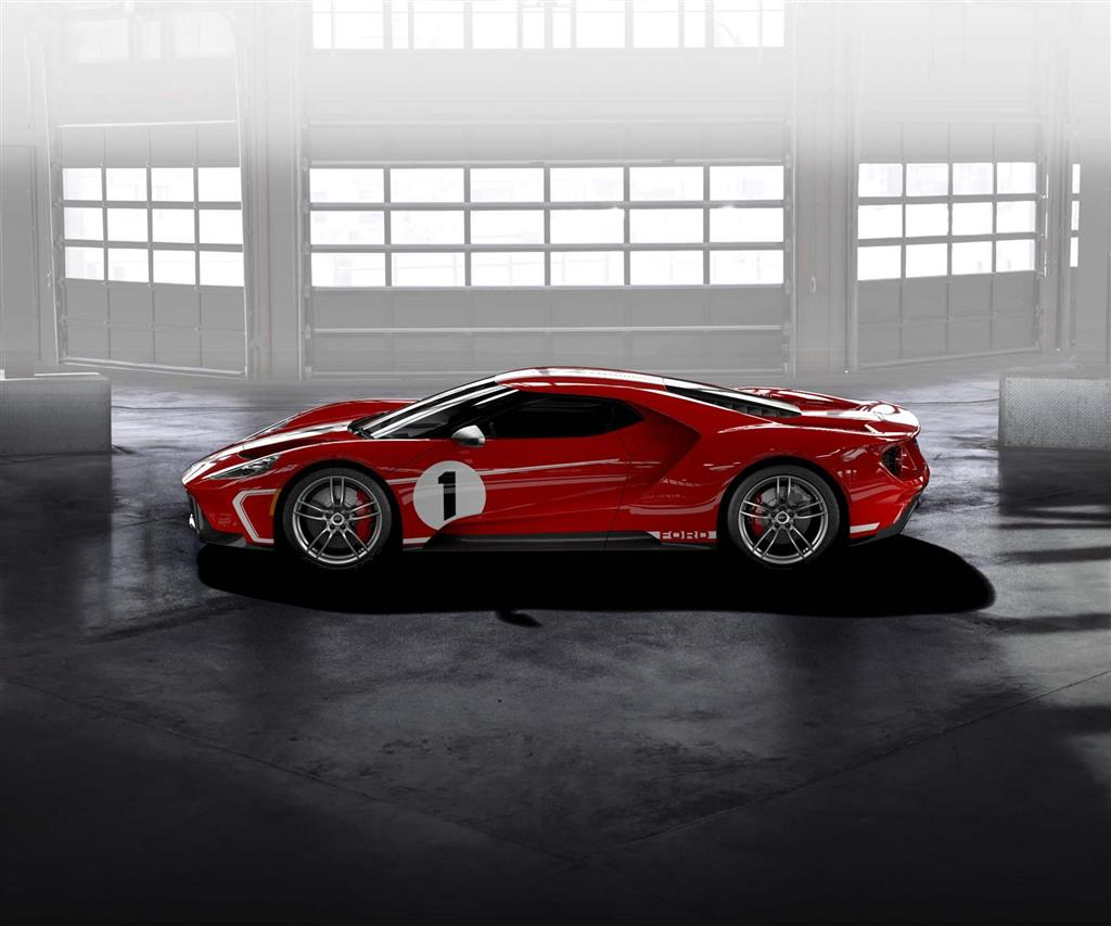 Ford GT 67 Heritage Edition pictures and wallpaper