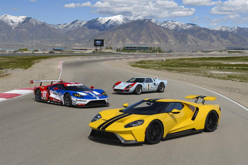 Ford GT pictures and wallpaper