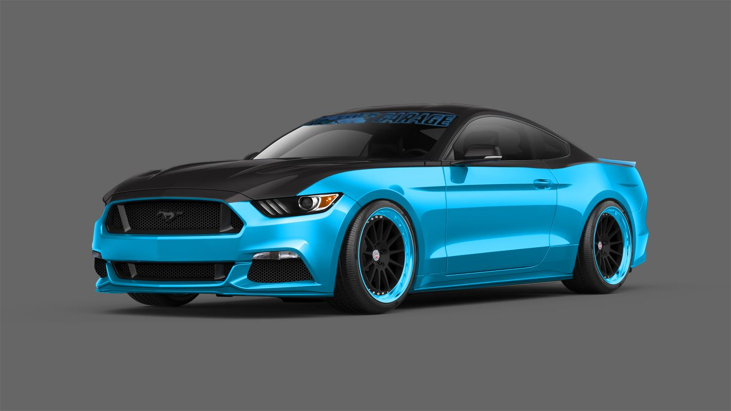 2015 ford pettys garage mustang for Garage ford valenciennes