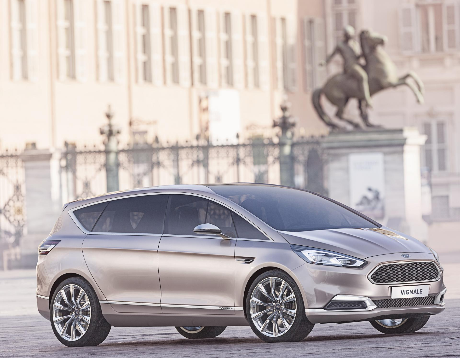 2014 ford s max vignale concept pictures news research pricing. Black Bedroom Furniture Sets. Home Design Ideas