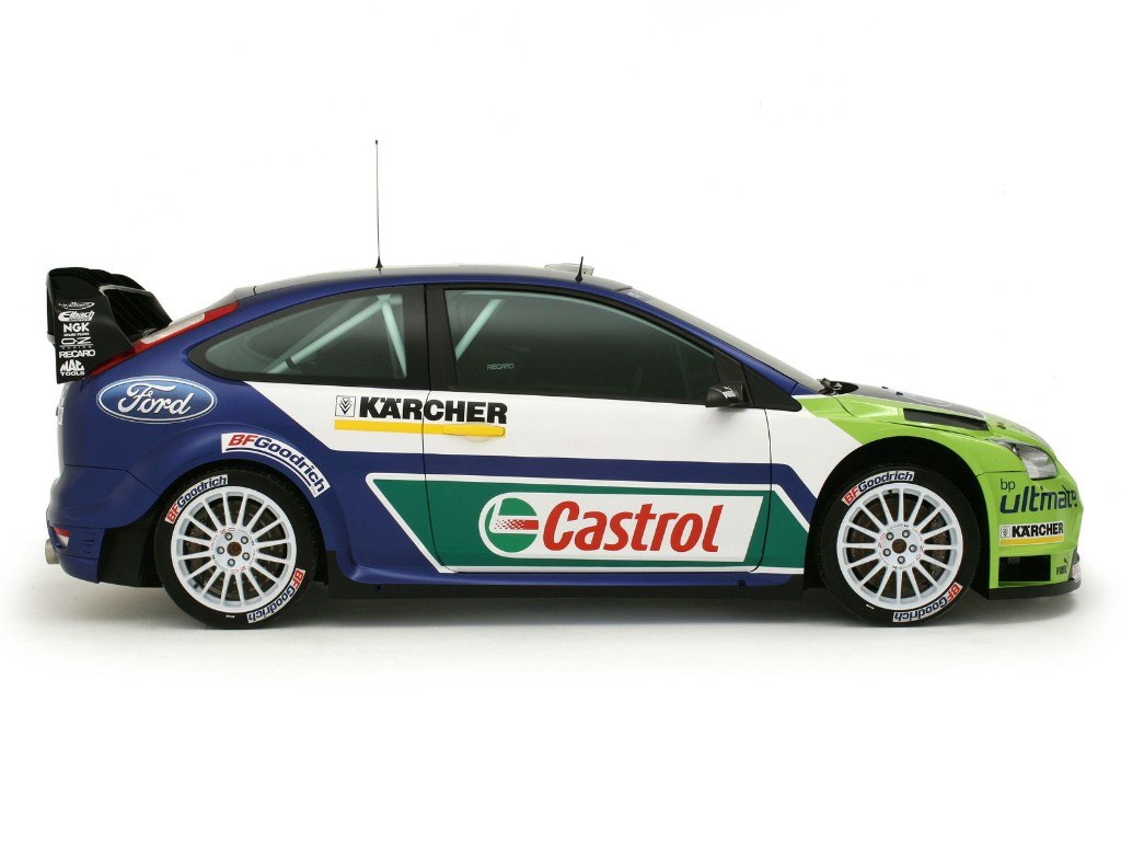 2007 Ford Focus RS WRC 06  conceptcarzcom