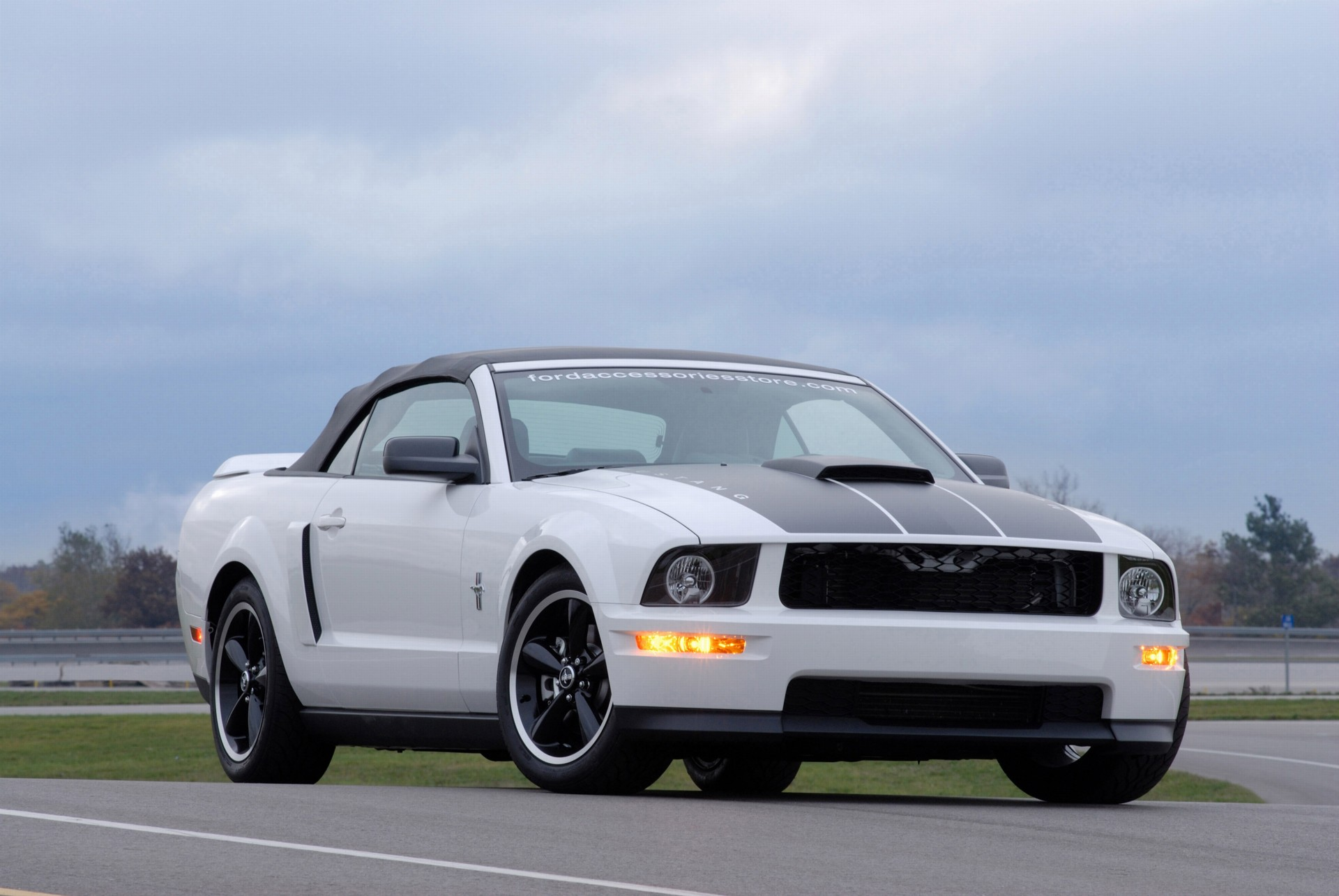 2006 ford project mustang gt pictures history value. Black Bedroom Furniture Sets. Home Design Ideas