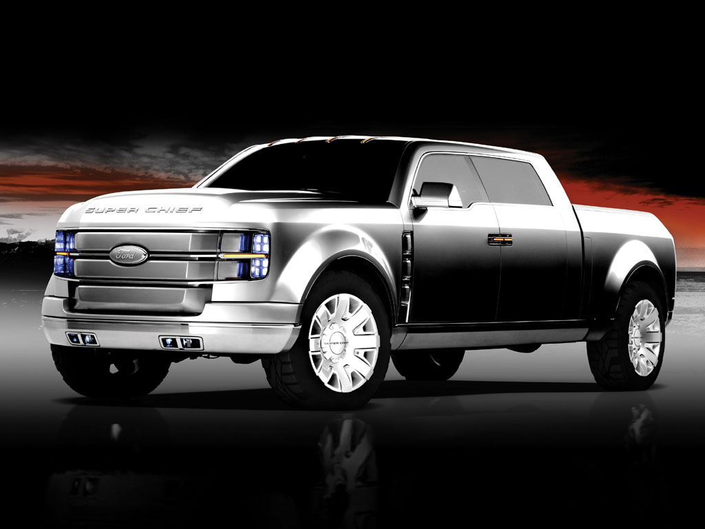 2006 ford f250 super chief concept. Black Bedroom Furniture Sets. Home Design Ideas