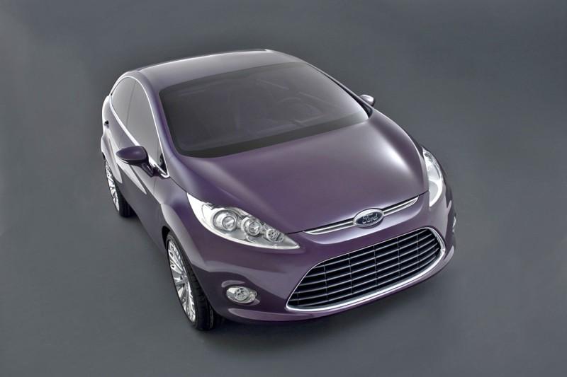 2008 Ford Verve Sedan Concept Car Pictures