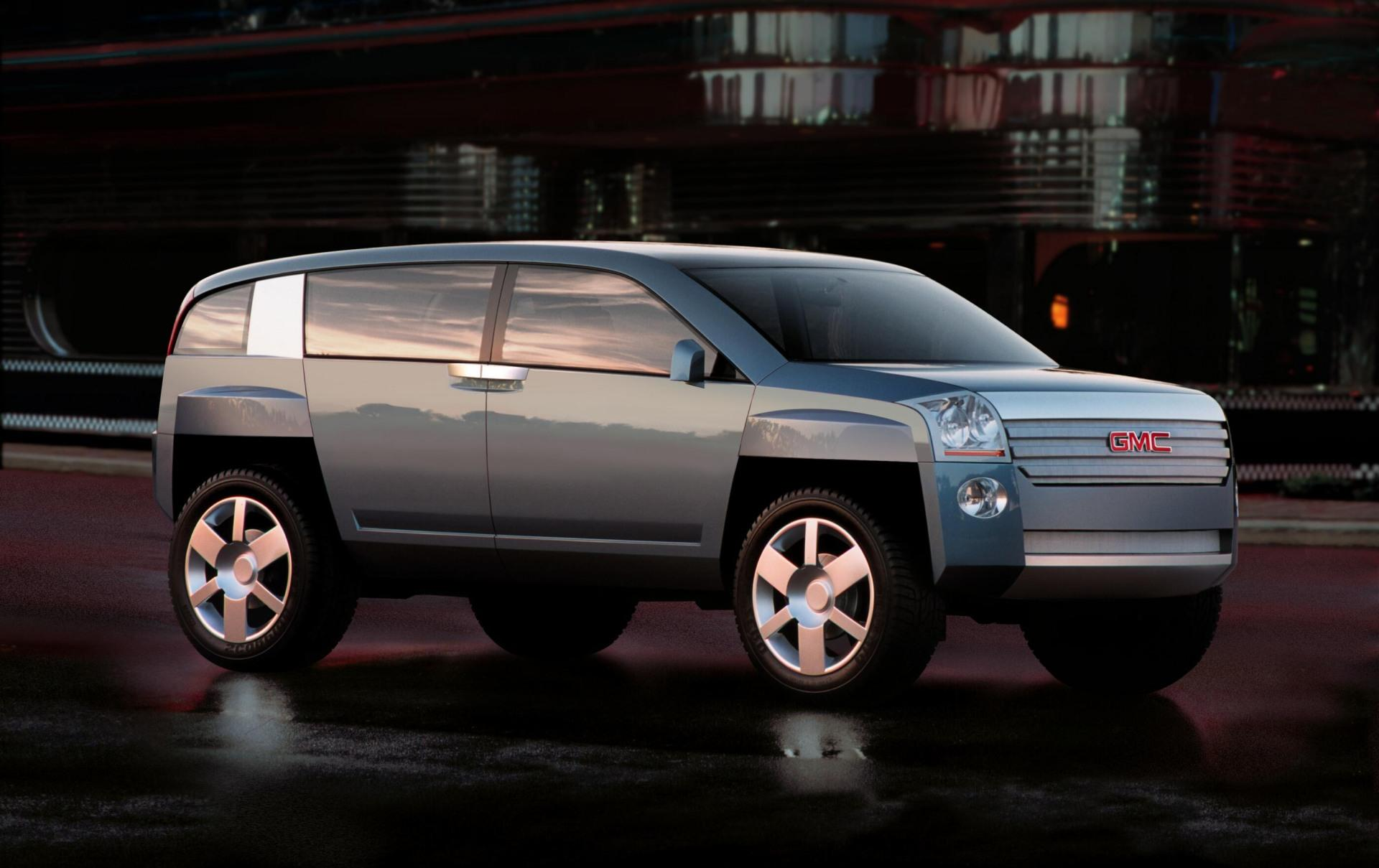 2001 Gmc Terracross Concept Pictures History Value