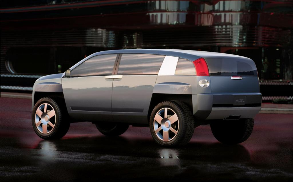 2001 gmc terracross concept pictures history value research news. Black Bedroom Furniture Sets. Home Design Ideas