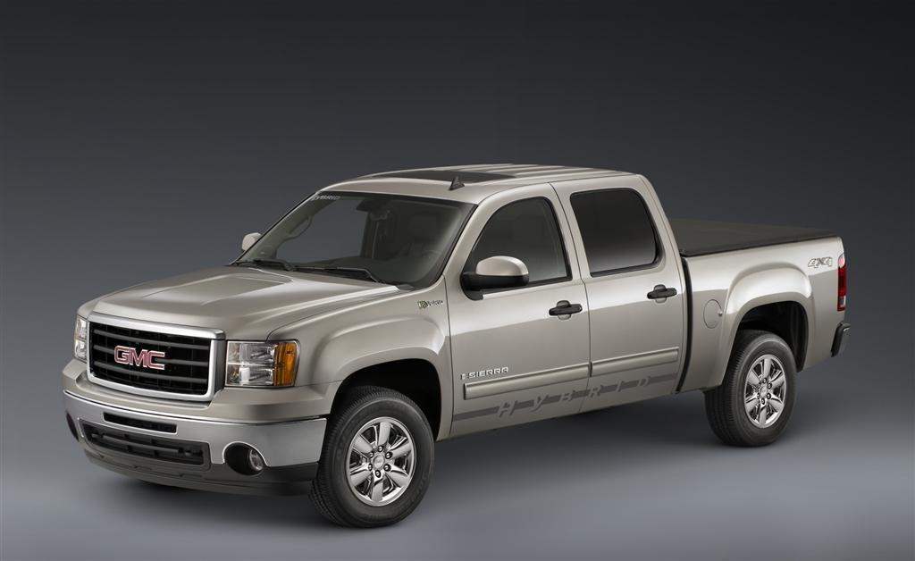2010 gmc sierra hybrid. Black Bedroom Furniture Sets. Home Design Ideas