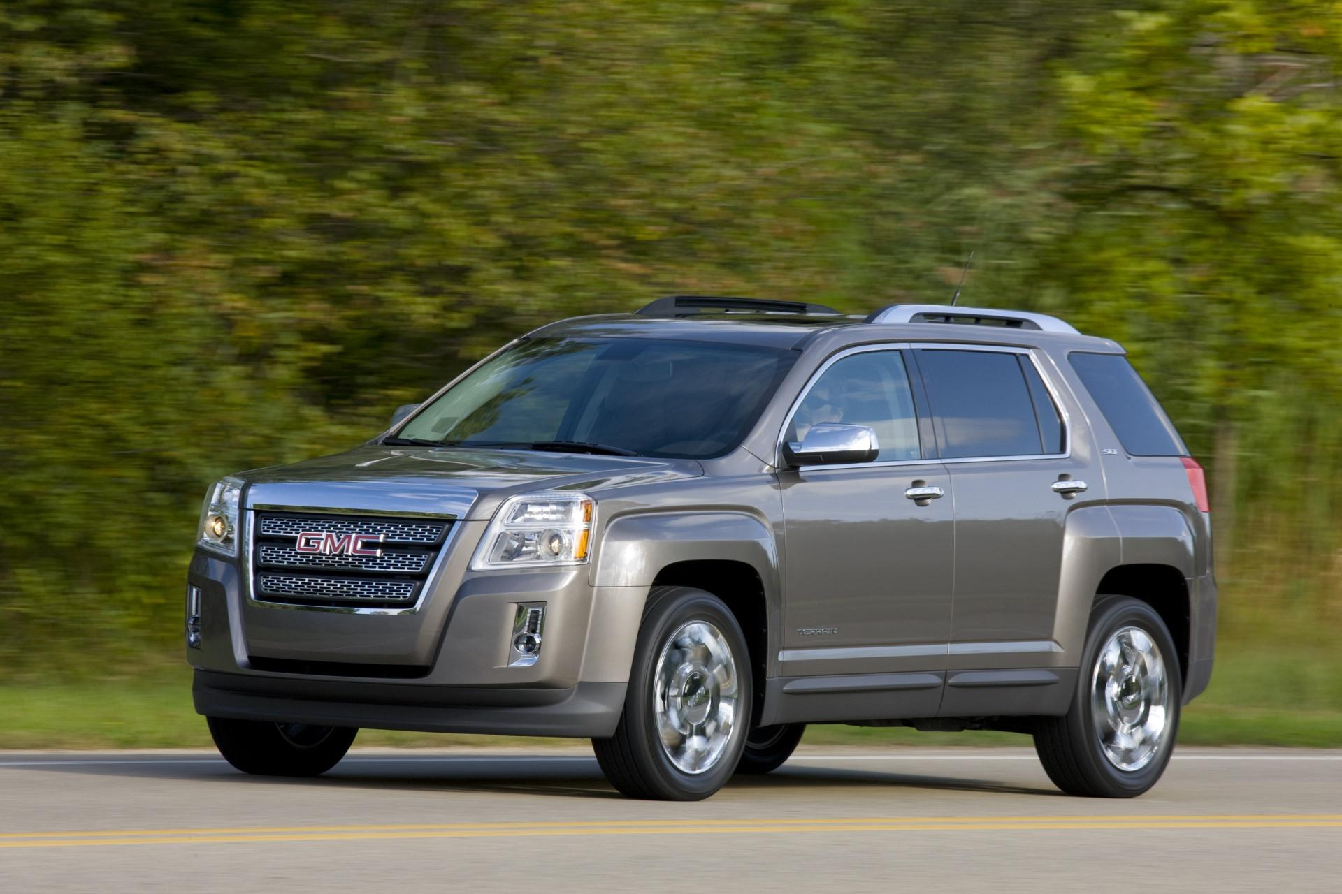 2011 GMC Terrain Technical Specifications and data Engine