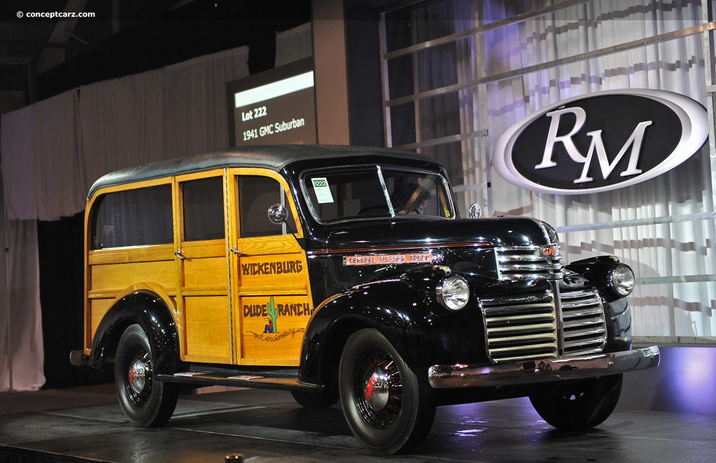 Ford Ford Auction >> 1941 GMC Suburban Pictures, History, Value, Research, News ...