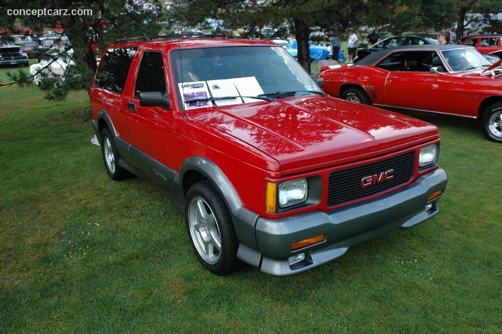 1992 Gmc Typhoon Pictures History Value Research News