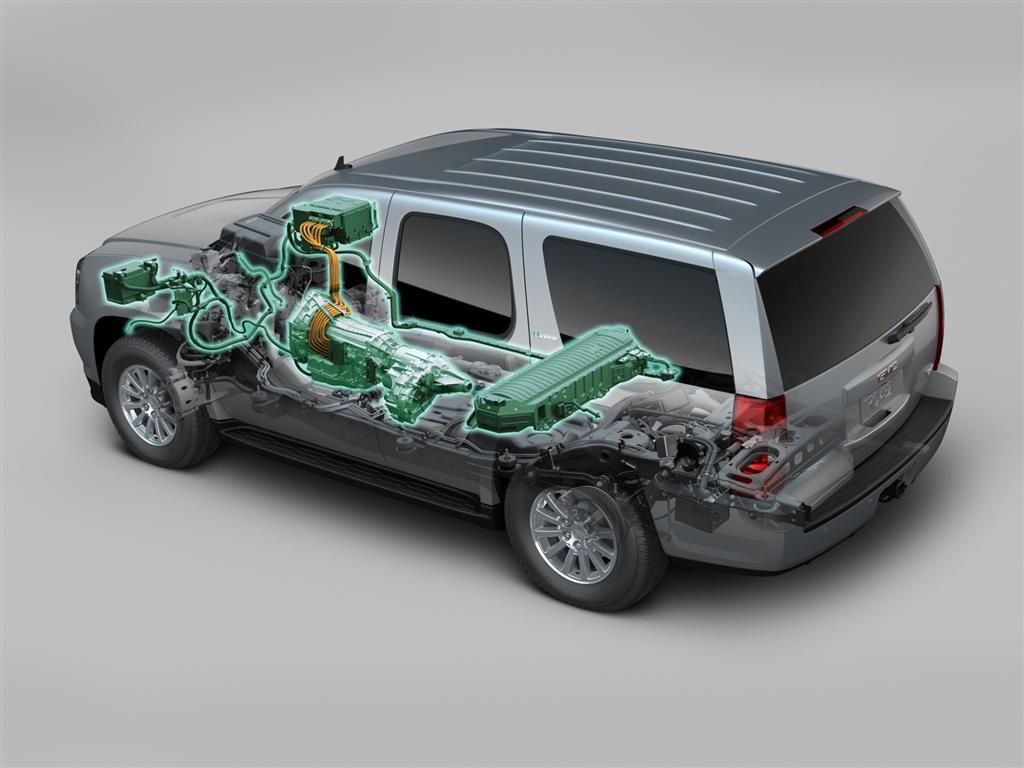 2009 Gmc Yukon Hybrid Conceptcarz Com