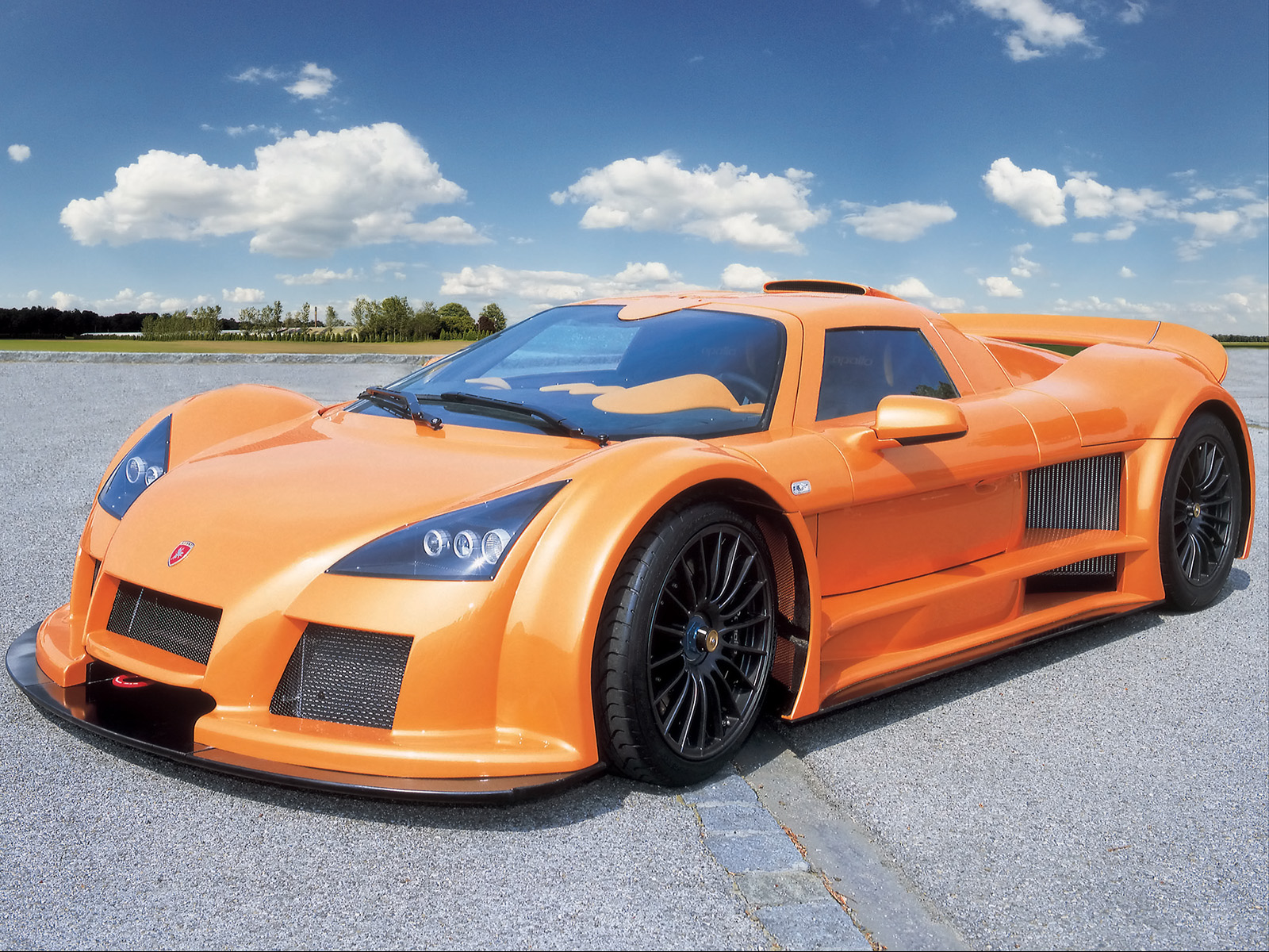 auction results and data for 2007 gumpert apollo sport. Black Bedroom Furniture Sets. Home Design Ideas