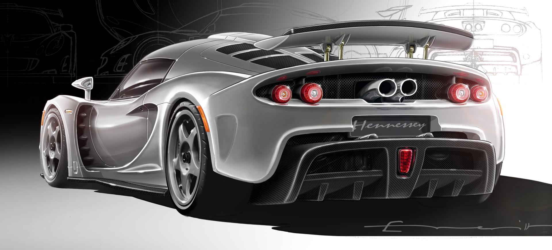 2009 Hennessey Venom GT Concept Images Photo HennesseyVenomGT