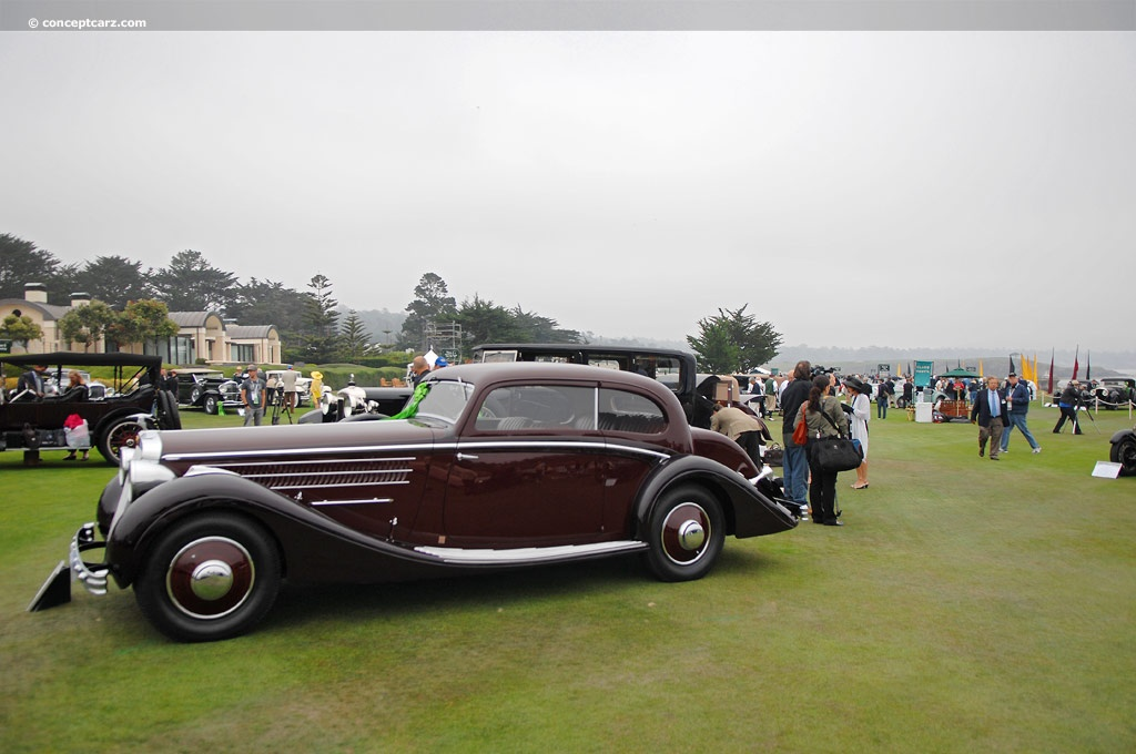 Auction Results And Data For 1937 Hispano Suiza K6