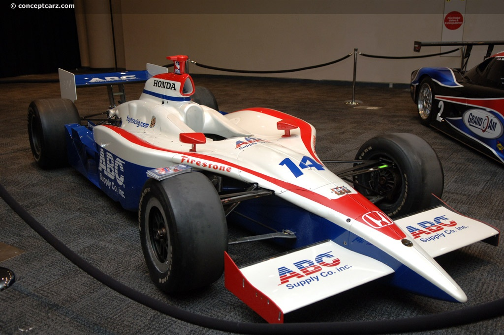 2008 Dallara Aj Foyt Enterprises Indycar Pictures News