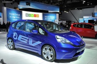 2011 Honda Fit EV Concept Electric Vehicle image.