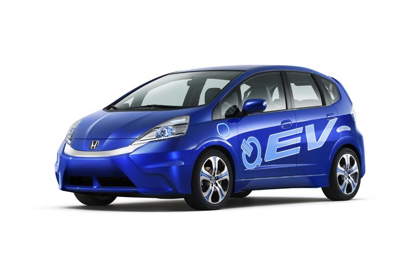 2011 Honda Fit EV Concept Electric Vehicle Image