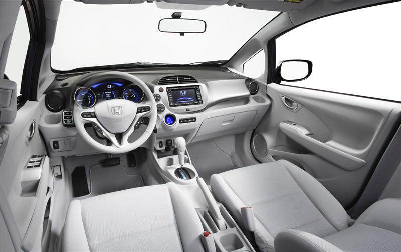 2011 Honda Fit EV Concept Electric Vehicle