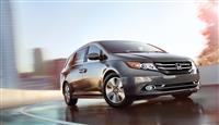2017 Honda Odyssey image.
