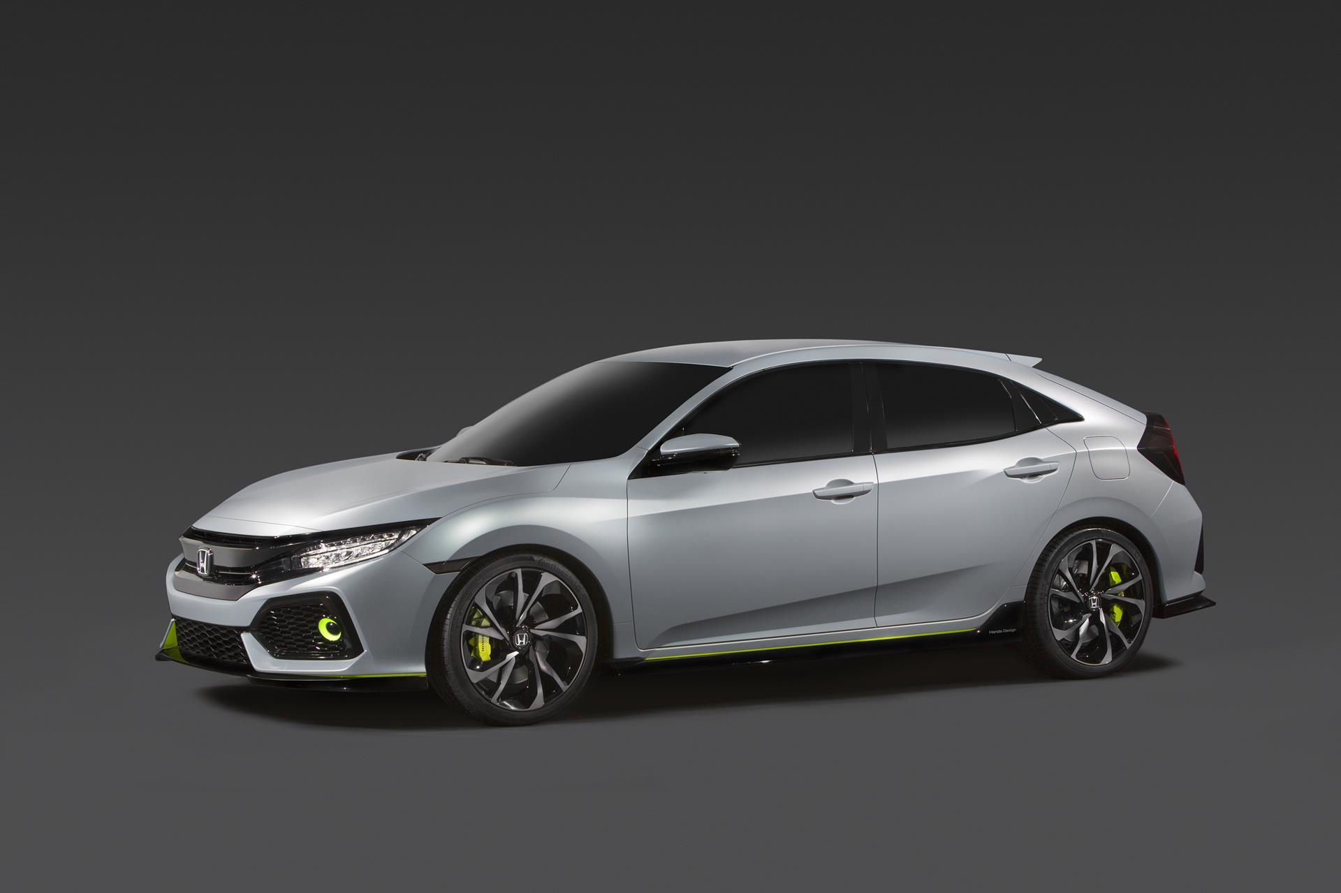 2017 Honda Civic Hatchback Prototype Pictures News
