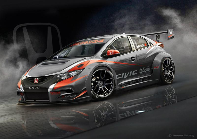2014 Honda Civic WTCC pictures and wallpaper