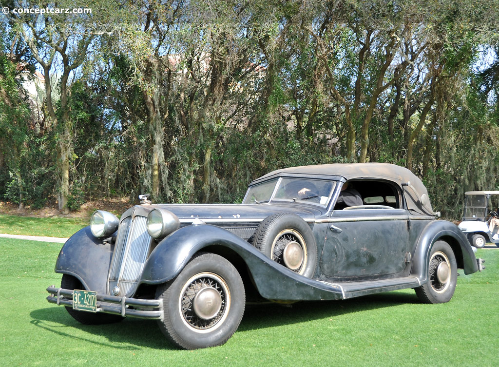 Auction Results And Data For 1937 Horch 853 Conceptcarz Com