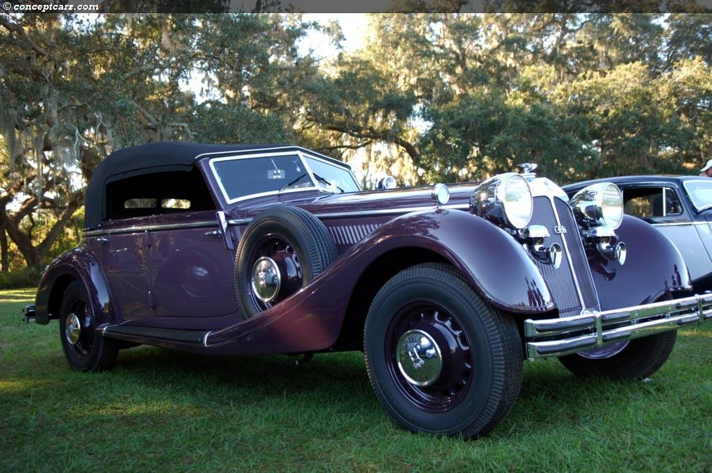 1938 Horch 853 Phaeton Conceptcarz Com