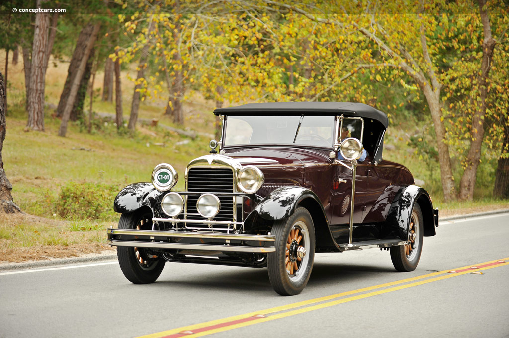 1927 Hudson Model O at the Pebble Beach Concours d'Elegance