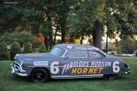 1952 Hudson Hornet NASCAR image.