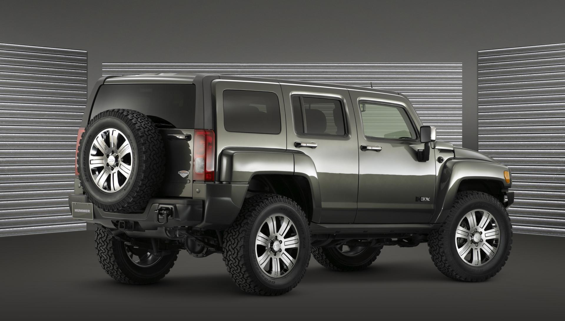2009 hummer h3 x concept pictures news research pricing. Black Bedroom Furniture Sets. Home Design Ideas