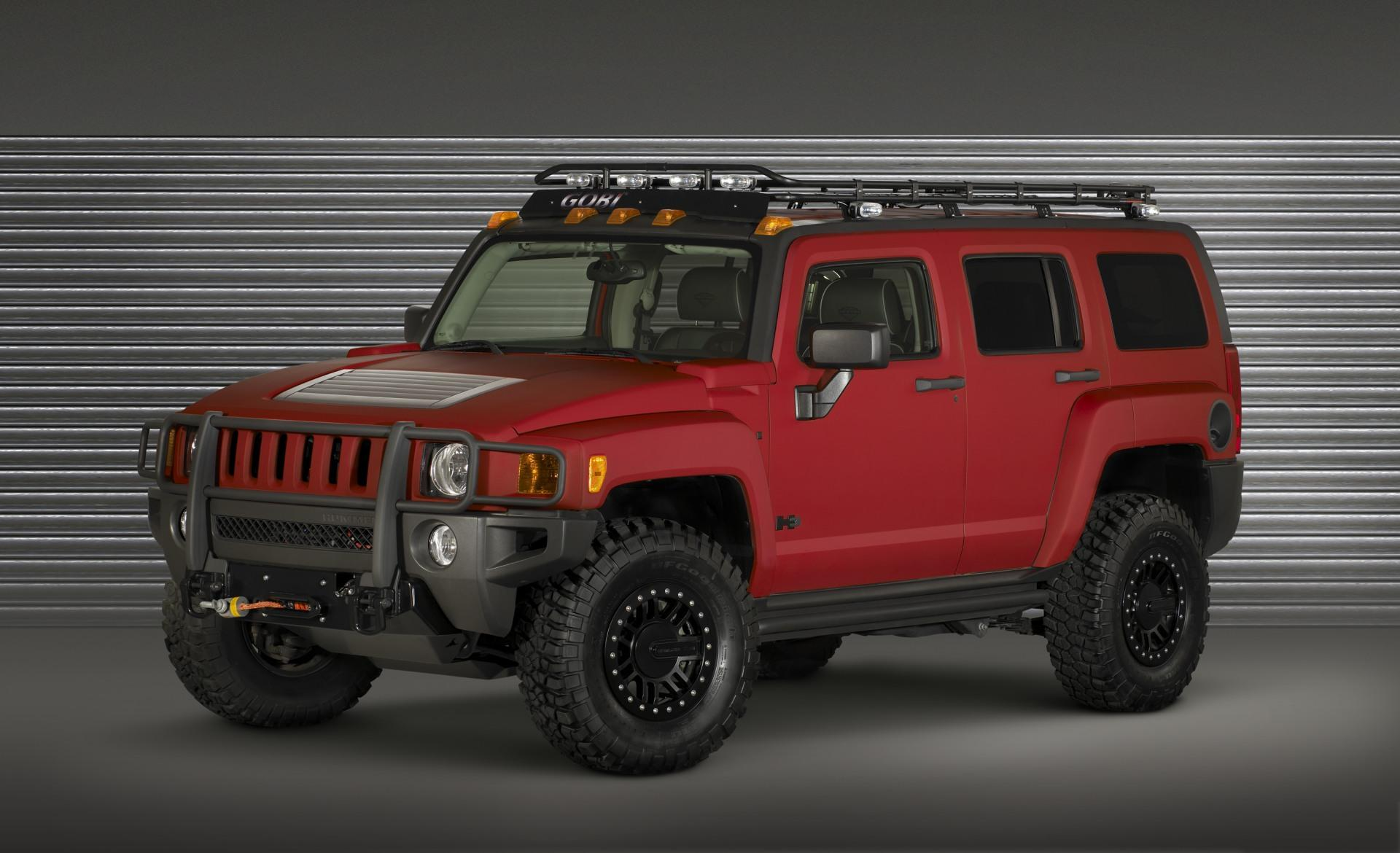 Another hummer in a hummer