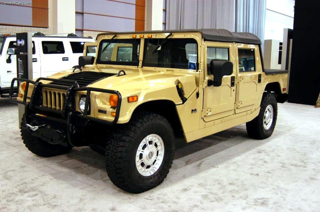 2004 Hummer H1 Conceptcarz Com