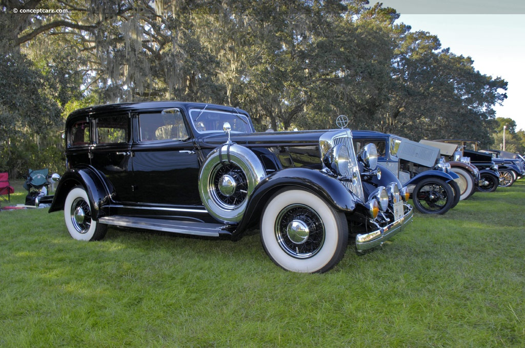 Auction Results And Data For 1934 Hupmobile Model F
