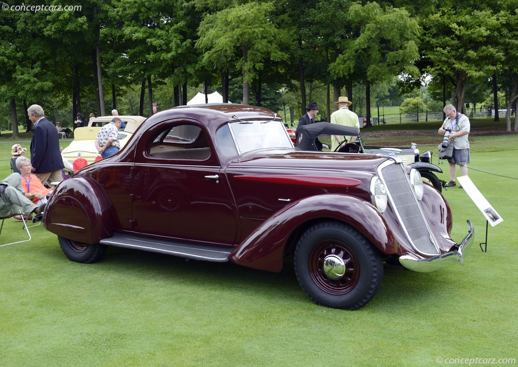 Auction results and data for 1935 Hupmobile 527-T ...