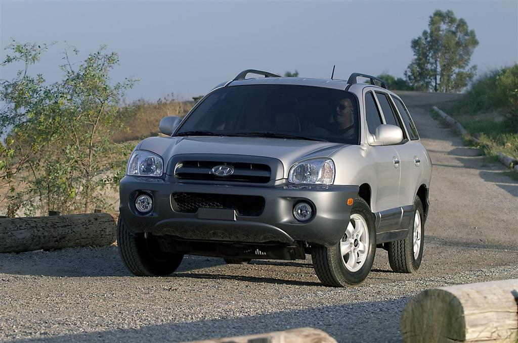 2005 hyundai santa fe pictures history value research news. Black Bedroom Furniture Sets. Home Design Ideas