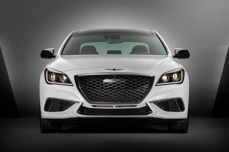 2017 Hyundai Genesis G80 Sport