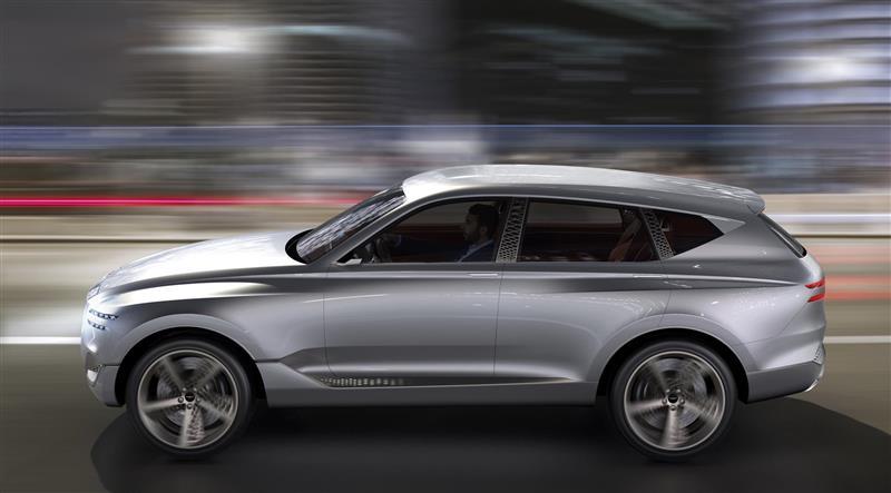 2017 Hyundai Genesis GV80 Concept Image