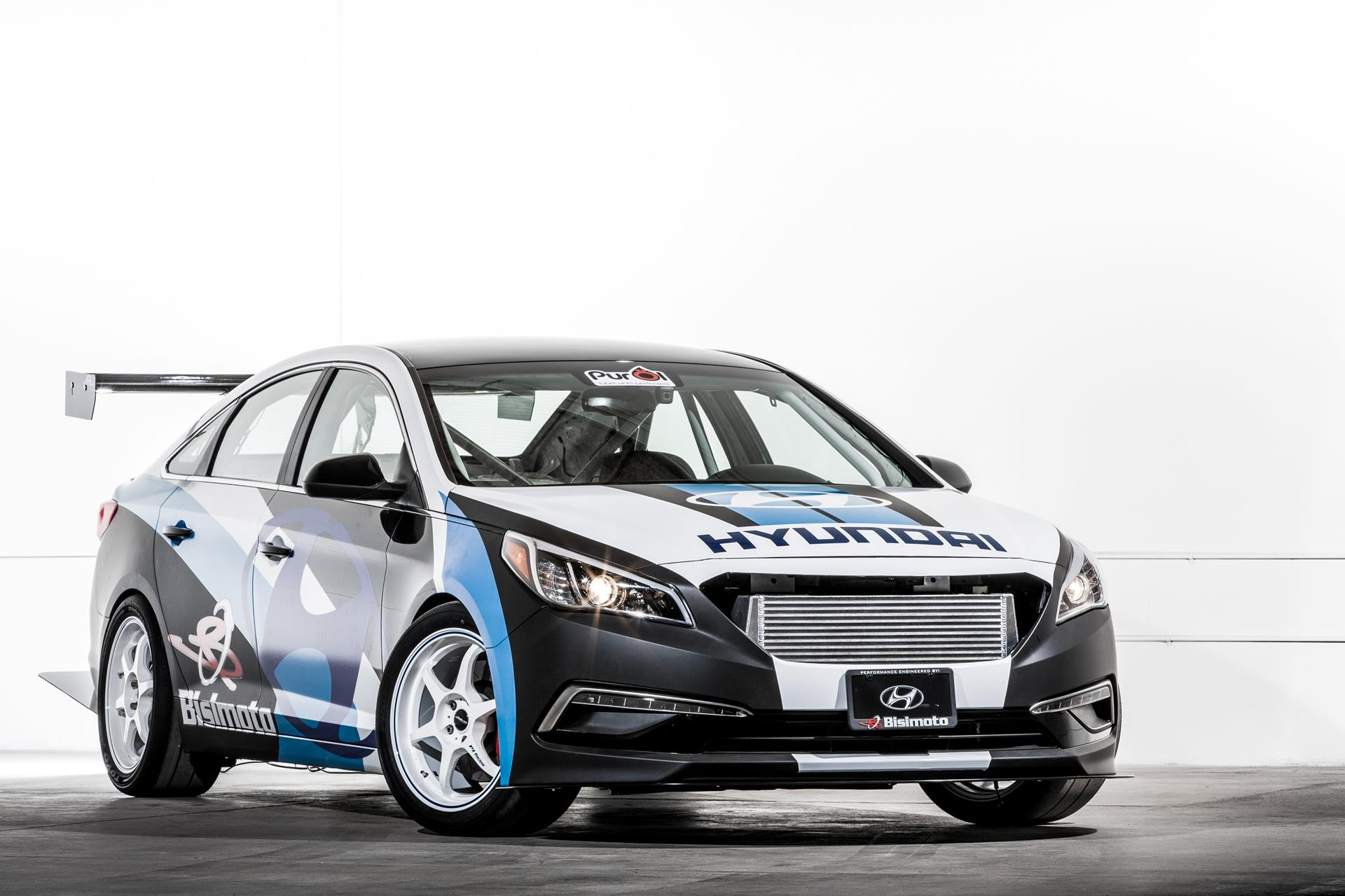 Hyundai Bisimoto Engineering Sonata pictures and wallpaper