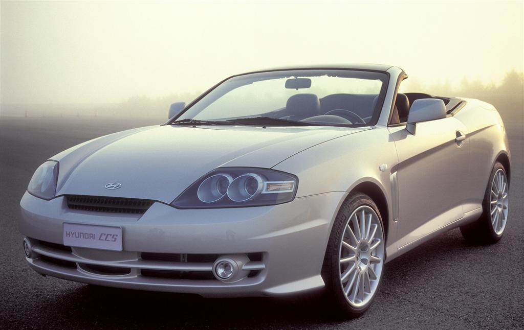 2003 Hyundai Ccs Concept Coupe Cabriolet Study Conceptcarz