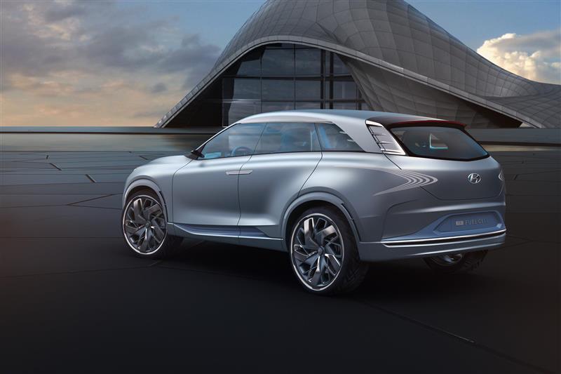 2017 Hyundai FE Fuel Cell Concept Image
