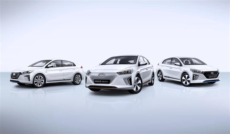 2016 Hyundai IONIQ pictures and wallpaper