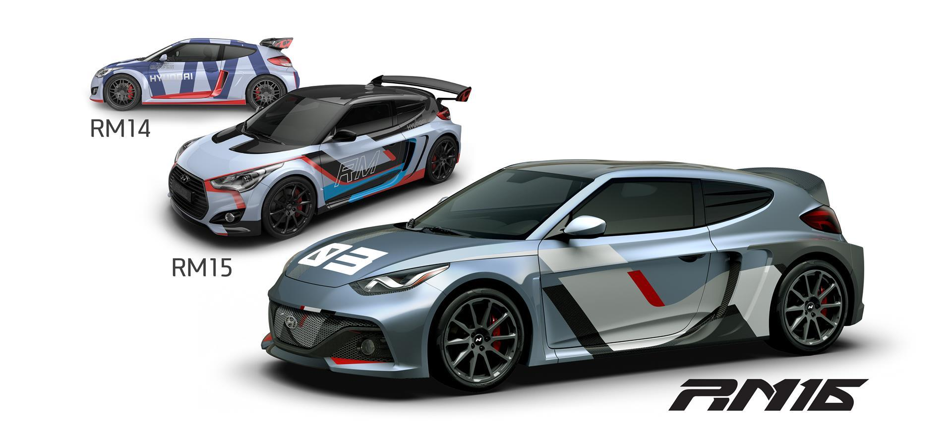 Hyundai RM16 Concept pictures and wallpaper