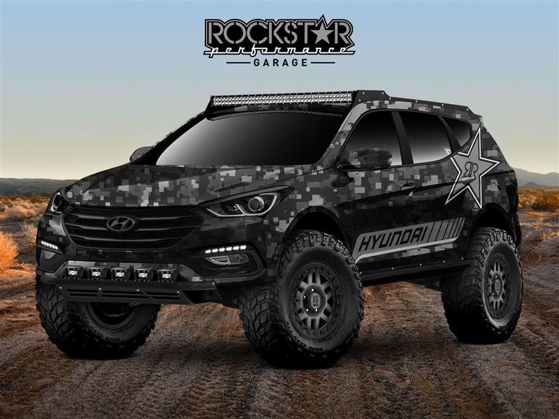 2017 Hyundai Rockstar Energy Moab Extreme Concept pictures and wallpaper