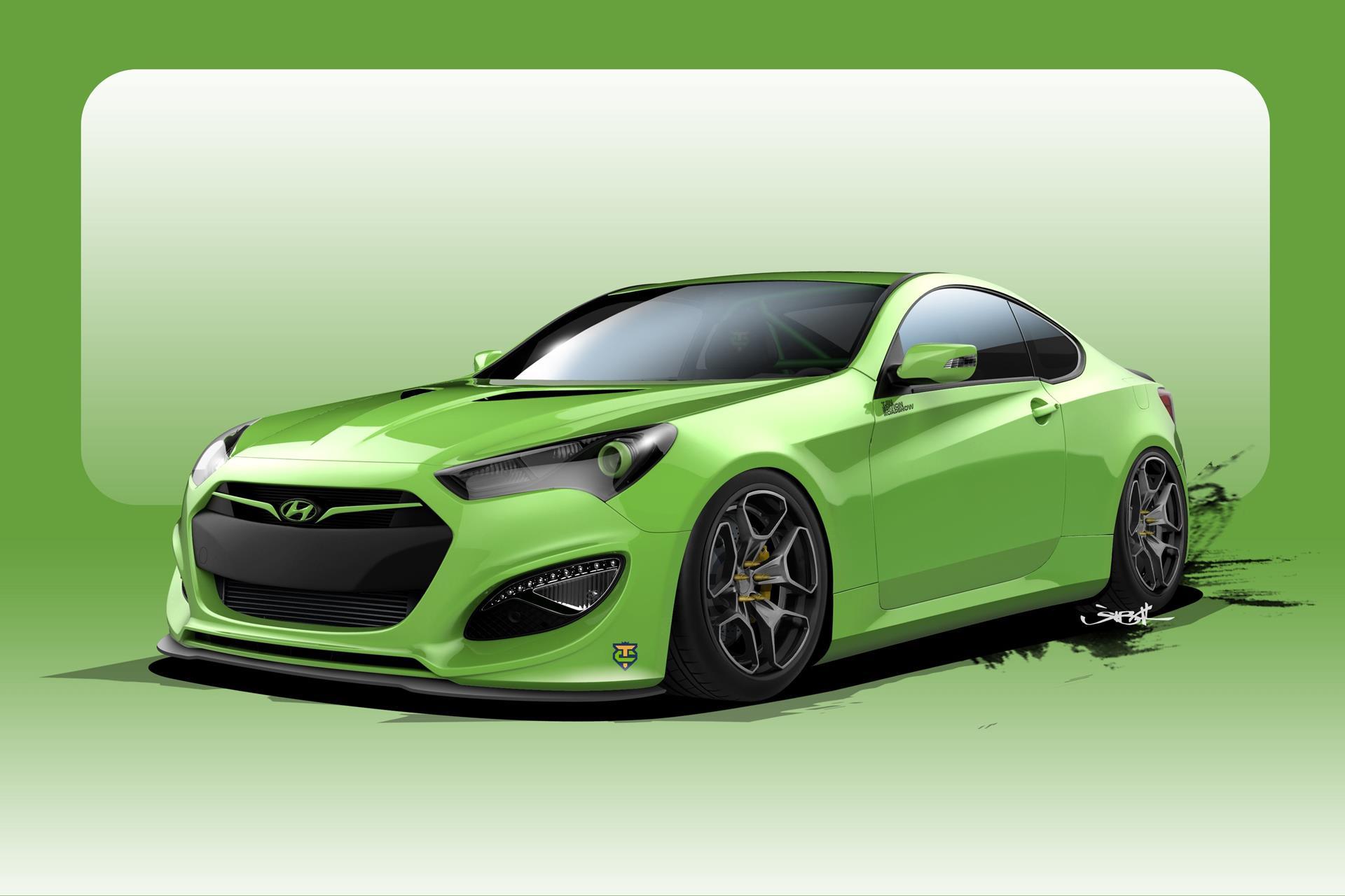 Hyundai Genesis pictures and wallpaper