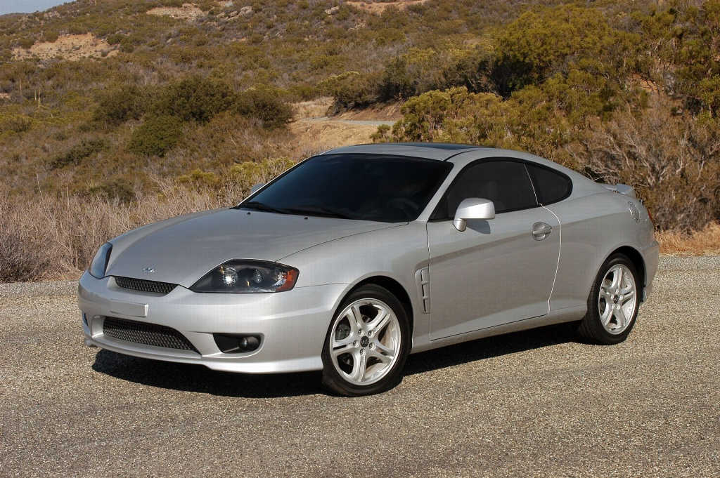 2005 Hyundai Tiburon Pictures History Value Research