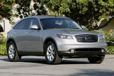 2004 Infiniti FX pictures and wallpaper