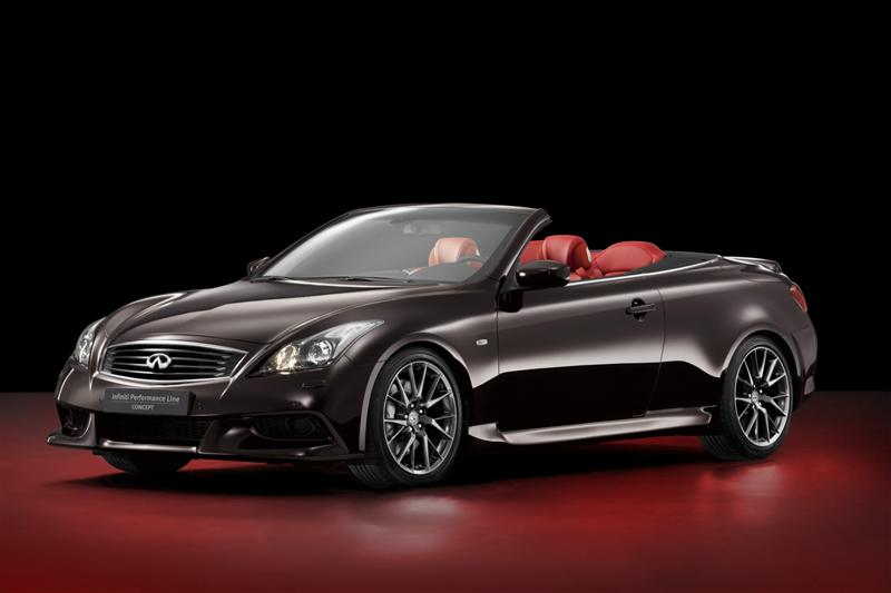 2011 Infiniti IPL G Convertible Concept pictures and wallpaper