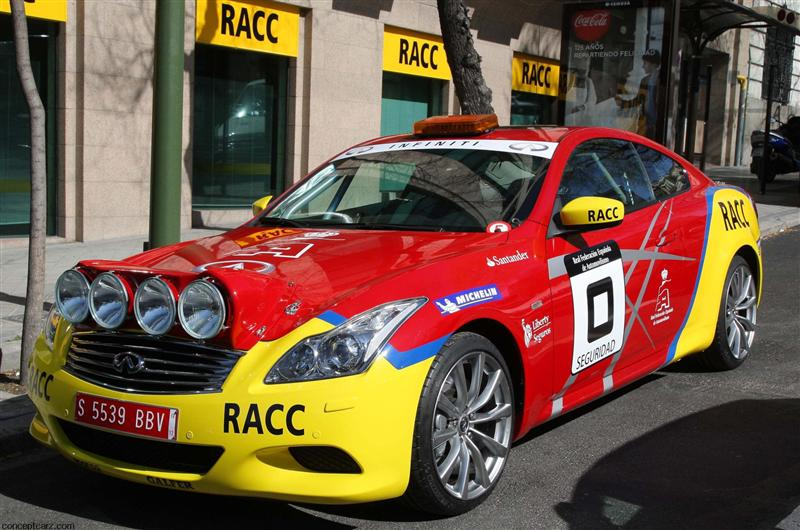 2011 Infiniti G37 S Safety Car